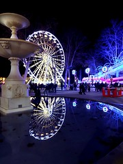 Reflections at Carcassoness Xmas market - Photo of Pennautier