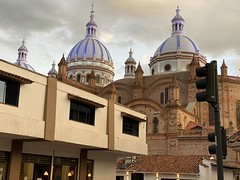 Cuenca at 2,560 meters (8,398 ft) above sea level, the Southern Highlands, Ecuador.