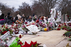 Worshippers At the Shrine of Our Lady of Guadalupe Des Plaines Illinois 12-12-19_5024