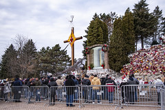 Worshippers At the Shrine of Our Lady of Guadalupe Des Plaines Illinois 12-12-19_5026