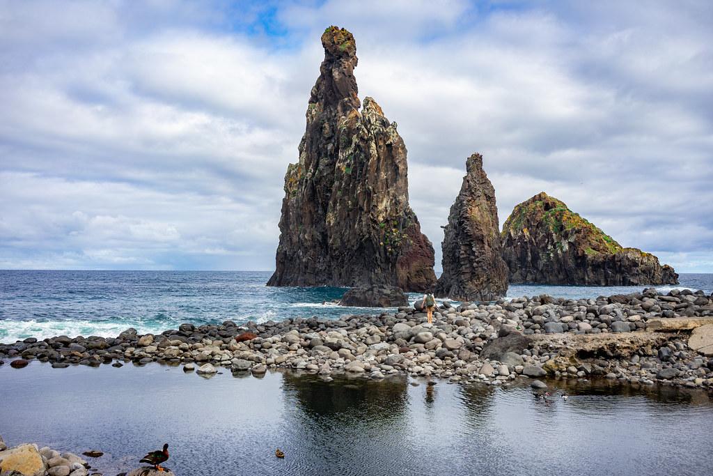 Ilhéus da Ribeira da Janela - Porto Muniz, Madeira, Portugal