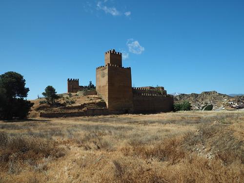 Spanish Castle of Guadix