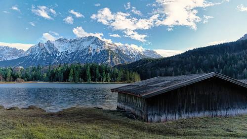 Lautersee Near Mittenwald