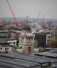 The Old Bailey from St Paul's