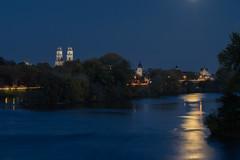 Orléans, un soir de pleine Lune