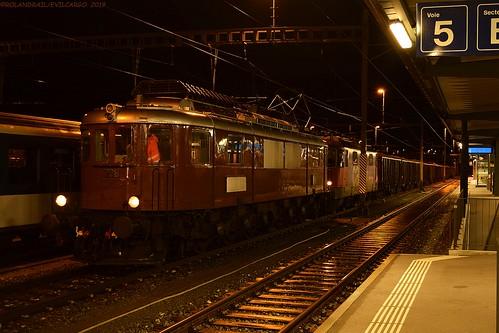 Swisstrain Ae 6/8 208 @ Delémont