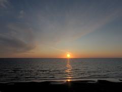 Sunset near Nørre Lyngby