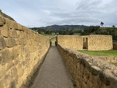The Ingapirca Fortress is an Archaeological Complex (authentically Incan-Cañari construction) at 3,180 meters (10,433 ft) above sea level, Cañar Province, the Southern Highlands, Ecuador.