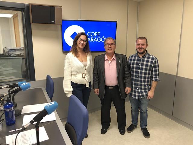 Entrevista en COPE Zaragoza