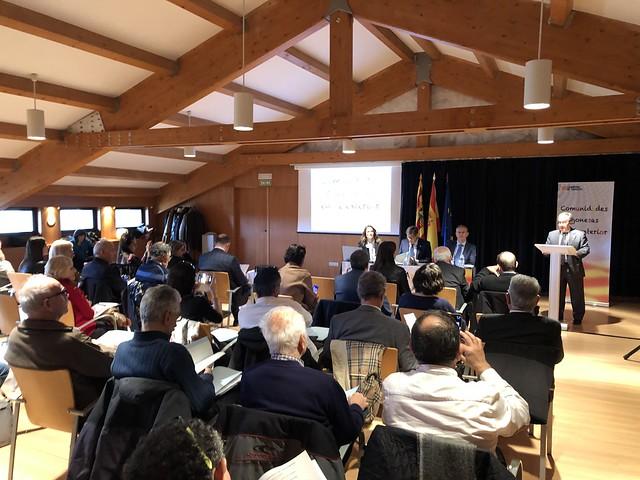 Reunión del Consejo de Comunidades Aragonesas en el Exterior