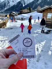 I have lift tickets for the twins first big gondola ride