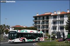 Heuliez Bus GX 337 Hybride – Transdev Urbain Pays Basque / Hegobus n°109