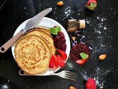 Pancake on plate - Credit to https://homegets.com/