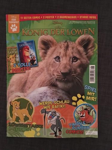 2019 Egmont Ehapa German The Lion King Magazine (Issue #2)