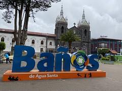 Baños de Agua Santa at an elevation of 1,820 metres (5,971 feet) above sea level, the Central Highlands, Ecuador.
