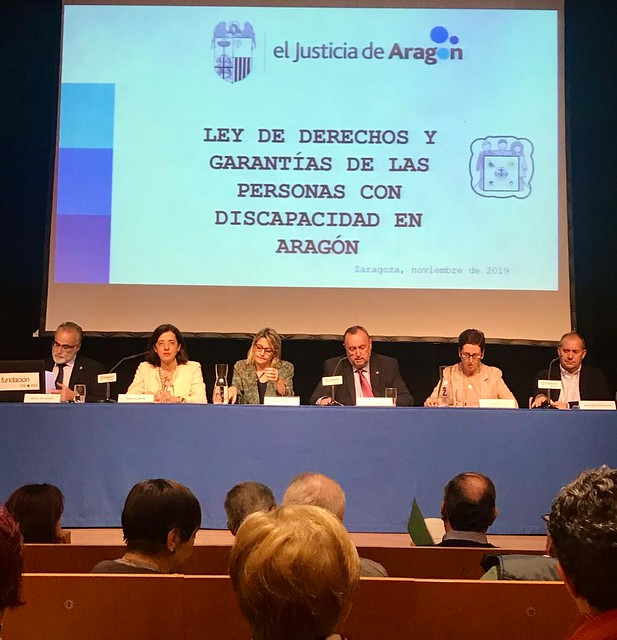 El lugarteniente participa en Jornadas sobre Discapacidad