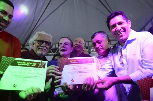 Posse dos dirigentes do PT Ceará e Fortaleza