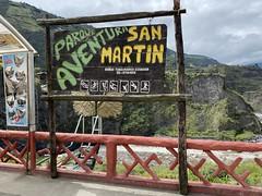 Parque Aventura San Martin, Baños, Ecuador.