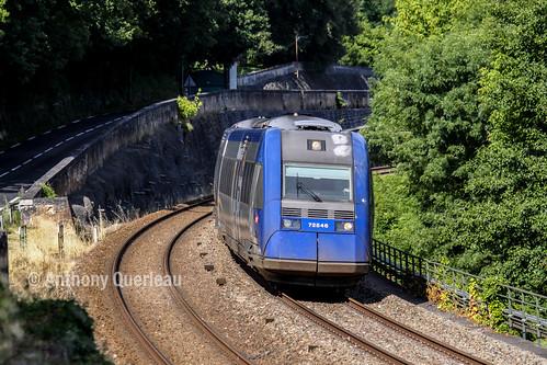 22 juin 2009 x 72545 Train 865315 Périgueux -> Mussidan Saint-Front-de-Pradoux (24)