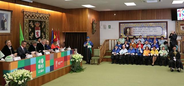 Acto Académico Conmemorativo del 40 Aniversario de la Universidad de León 15