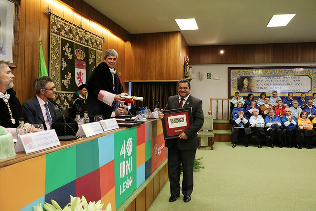 Acto Académico Conmemorativo del 40 Aniversario de la Universidad de León 5