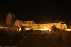 FR11 3451 L'abbaye Sainte-Marie. Lagrasse, Aude, Languedoc