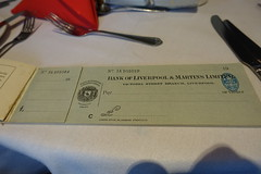 Bank of Liverpool & Martins Limited - Cheque book