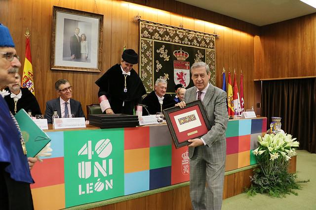 Acto Académico Conmemorativo del 40 Aniversario de la Universidad de León 8
