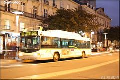 Heuliez Bus GX 317 GNV – Semitan (Société d'Économie MIxte des Transports en commun de l'Agglomération Nantaise) / TAN (Transports en commun de l'Agglomération Nantaise) n°557