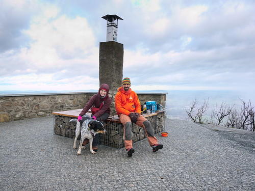 on the top of Luž / Lausche