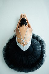 Ballerina stretching - Credit to https://homegets.com/