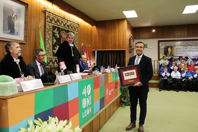Acto Académico Conmemorativo del 40 Aniversario de la Universidad de León 4
