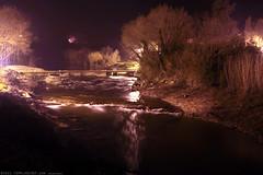 FR11 3457 La rivière l'Orbieu. Lagrasse, Aude, Languedoc