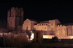 FR11 3450 L'abbaye Sainte-Marie. Lagrasse, Aude, Languedoc