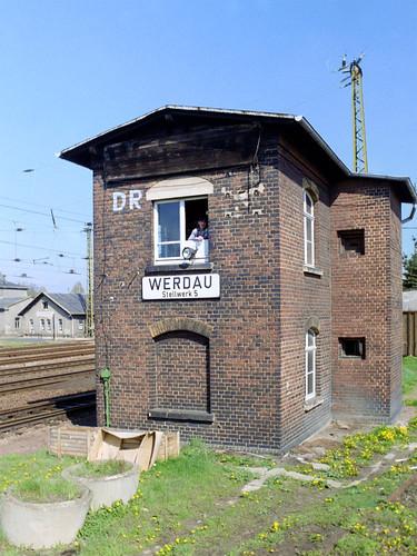Werdau - Stellwerk W5