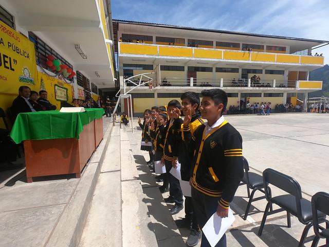 Juamentación de Municipio Escolar