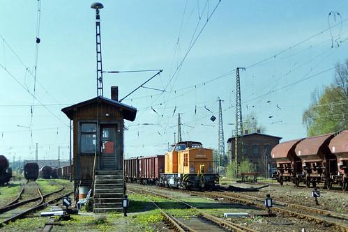 Im alten Werdauer Bahnhof