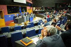 Left MEPs and staff in meeting with Brazil's human rights defenders