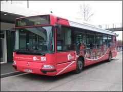 Irisbus Agora S – CIF (Courriers d'Île-de-France) (Keolis) / STIF (Syndicat des Transports d'Île-de-France) – T'Bus (Tremblay-en-France) - Photo of Louvres