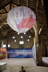 """Monumental Textiles from Alice Kettle's Exhibition """"Thread Bearing Witness"""""""