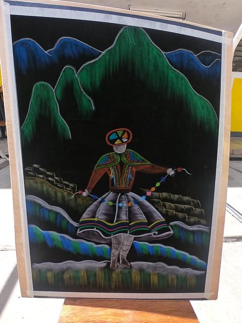 Exposición de Cuadro - Oleos en Franela