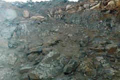 Lamprophyre breccia (Cresson Pipe, Cripple Creek Diatreme, Early Oligocene, ~28.5 Ma; western side of Cresson Pit, Cripple Creek Mining District, Colorado, USA) 3