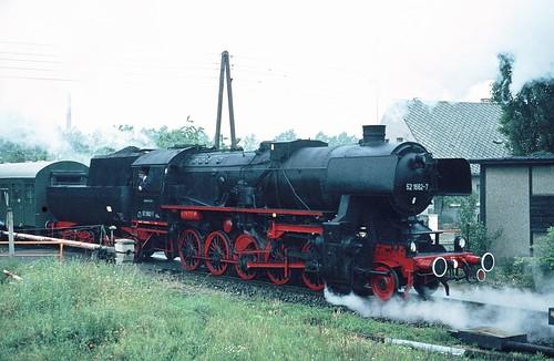 DR 52 1662-7 (ex 52 662; Schichau 1944) Bw Falkenberg