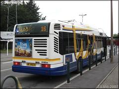 Heuliez Bus GX 317 GNV – Tisséo – Réseau Urbain / Tisséo n°0209