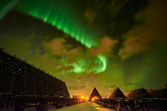 Aurora Borealis at Laukvik