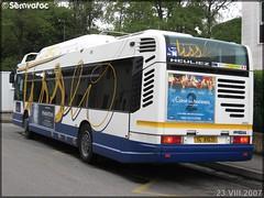 Heuliez Bus GX 317 GNV – Tisséo – Réseau Urbain / Tisséo n°0206