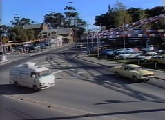 Murray Street Car yard 1982