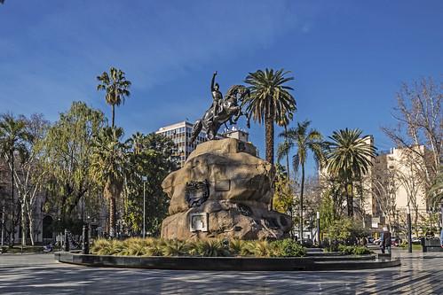 Plaza San Martin - Mendoza