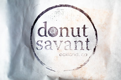Donut Savant, Eat Real Festival 2018, Oakland, California