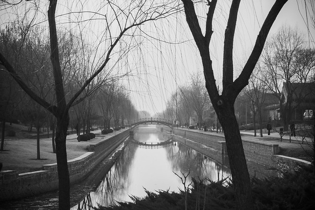 Canal View, Yuan Dynasty City Wall Park, Beijing
